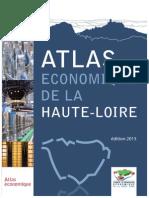 Atlas économique 2015 de la Haute-Loire