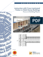 Construction With Cross Laminated Timber in Multi Storey Buildings