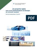 Droits de propriété intellectuelle et résultats des entreprises en Europe