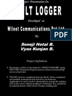 Fault Logger v1.1