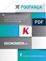 Guia de Poupanca eBook Ekonomista