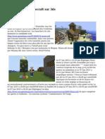 Le principe de minecraft sur 3ds