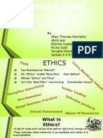 Ethics- Group Dynamics