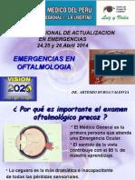 Emergencia Oftalmologica