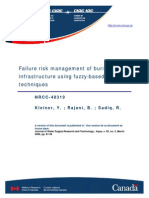 Fuzzy Risk Based Assessment of Underground Assets _ Generic