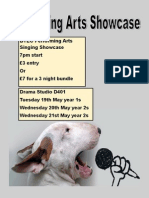 performing arts showcase pdf