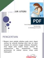 50934770 Ppt Ruptur Uterus