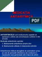 Antiaritmice + medicatie antianginoasa Dr. pelin