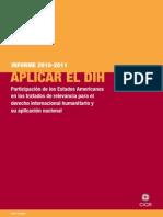 Aplicación del derecho internacionalhumanitario Cruz Roja