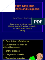 Diabetes-Classification and Diagnosis