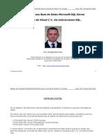 M.C. Enrique Ruiz Diaz - Manejo de una Base de Datos Microsoft SQL Server desde Visual C#, vía SQL