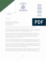 Carlucci Letter