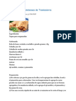Empanada Cordobesas de Traslasierra