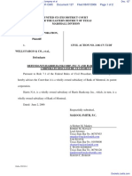 Datatreasury Corporation v. Wells Fargo & Company et al - Document No. 127