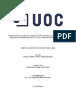 Implantación y Ajuste de La Aplicación Glpi Para La Administración de Recursos Infromaticos en La Secretaria Distrital de Planeacion