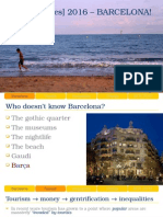 Inequalities Barcelona