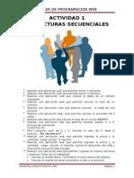 Ejercicio de Estructura secuenciales