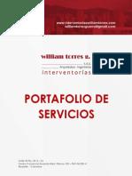 Portafolio de Servicios William Torres Guerra SAS 2015
