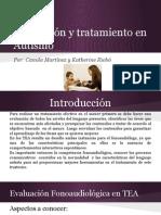 Evaluación y Tratamiento Fonoaudiologico en Autismo