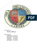 Nestle Pakistan Job Analysis, Recruitment, Selection, Training and Development, Health And Safety