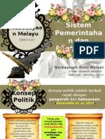 Sistem Pemerintahan Dan Pentadbiran Masyarakat Melayu