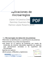 aplicaciones microarreglos