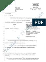 Michael Gargiulo Prosecution 1101(b) Motion