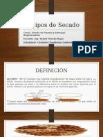 Equipos de Secado Mayo 2015 Chambergo