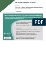 PUBLICACIÓN ARTÍCULOS CIENTÍFICOS DE INNOVACIÓN EDUCATIVA