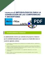 PRINCIPIOS METODOLÓGICOS mates+