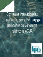 Convenios Internacionales en Venezuela Referente Al Agua