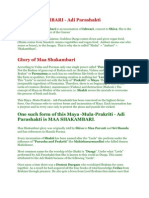 Maa Shakambar-Adi Para Shakti