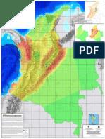 Seismic regions in USA