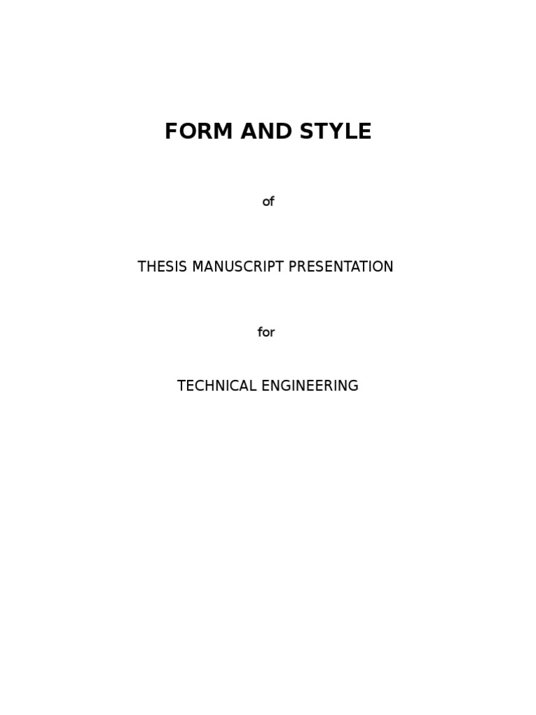 cvsu thesis format