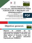Curso de Herramientas Evaluativas.