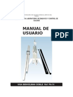 Manual Viga Benkelman Doble Ref. Pa-74
