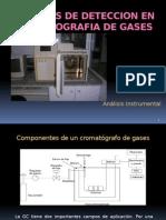 Detectores - Cromatografía de Gases