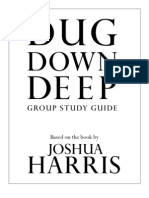 Dug Down Deep-Group Study Guide