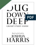 Dug Down Deep-Group Study Guide