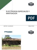 2 Electrodos de Mantención y Especiales - Hector Fritz