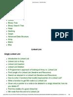 Data Structures - GeeksforGeeks