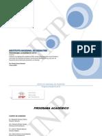 Programa Anual 2015