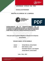 Rosado Samos Victor Consecuencias Delito