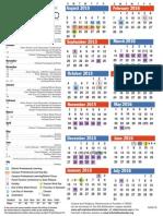 calendar 15 16 english