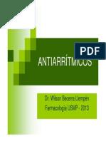 Farmacologia - Antiarrítmicos