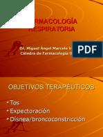 Farmacologia - Aparto Respiratorio