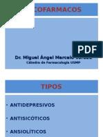 Farmacologia - Psicofármacos