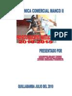 PROYECTO EDUCATIVO INSTITUCIONAL ATC