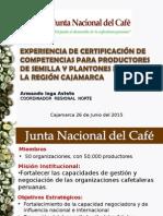 JNC CRN CxC Cafe Cajamarca 2015