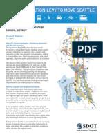 'Move Seattle' District 1 breakdown